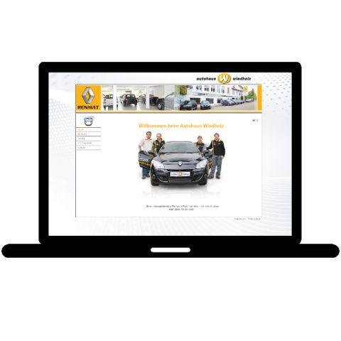 Autohaus Wiedholz GmbH; Referenz LIWETEC GmbH; Administration, Programmierung