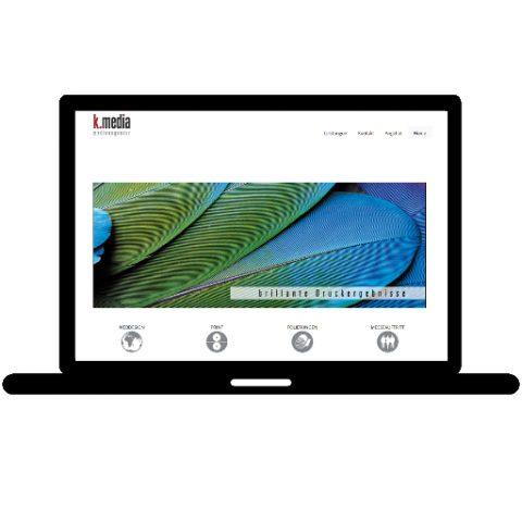 K-Media Medienagentur; Referenz LIWETEC GmbH; Administration, Programmierung