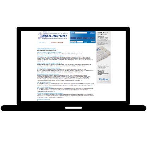 MAA Report; Referenz LIWETEC GmbH; Administration, Programmierung, Konzeption, Pflege, Gestaltung