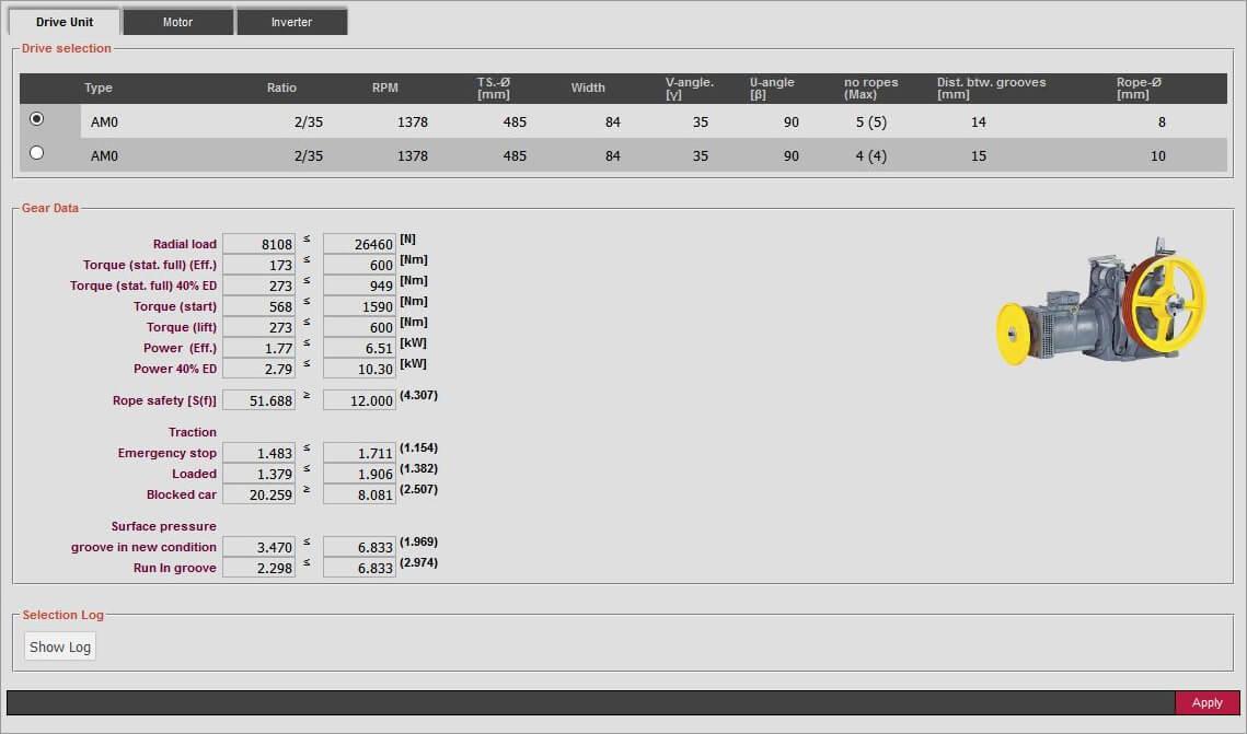 Product configurator eDrive