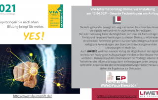 VFA-Informationstag - Smarte Technologien am Aufzug